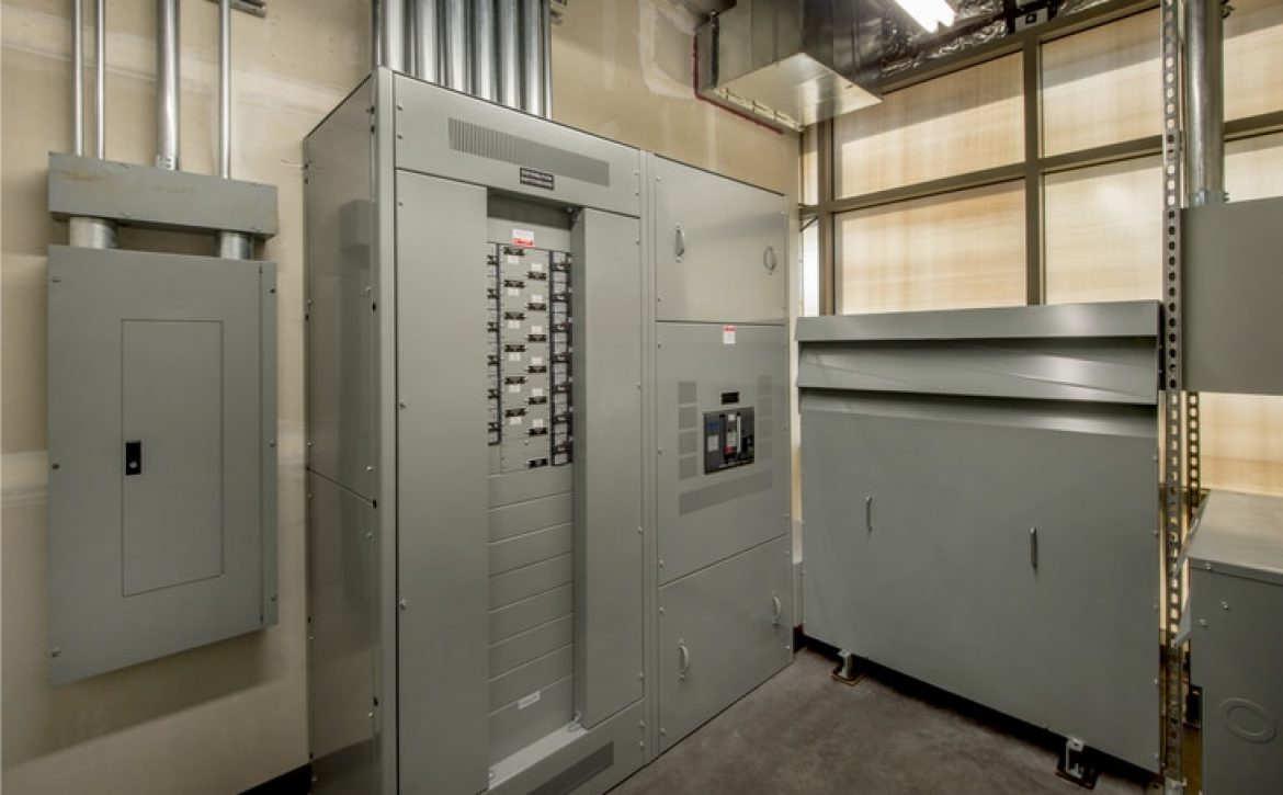 Electrical Room for an Office Building